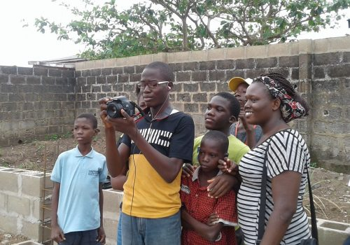 Photography and Cinematography Class at PAANEAH skill acquisition 2018